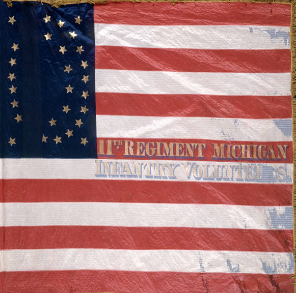 Eleventh_Michigan_Infantry_National_Battle_Flag
