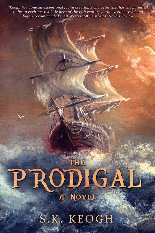 Keogh - PRODIGAL - Kindle Cover